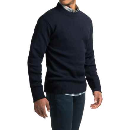 Filson Crew Neck Pullover Sweater (For Men) in Navy - Closeouts