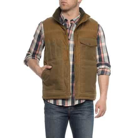Filson Cruiser Down Vest (For Men) in Dark Tan - Closeouts