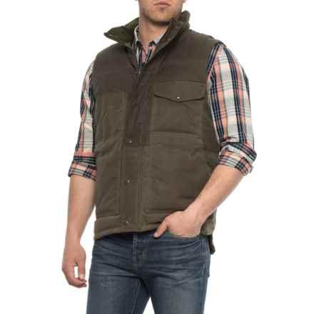 Filson Cruiser Down Vest (For Men) in Otter Green - Closeouts