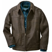 Filson Dawson Leather Jacket (For Men) in Brown - Closeouts