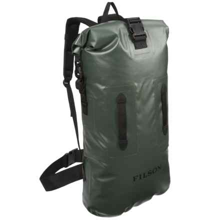Filson Dry Backpack - Waterproof in Green - Closeouts