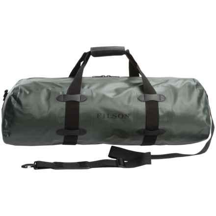 "Filson Dry Duffel Bag - Medium, 25"" in Green - Closeouts"