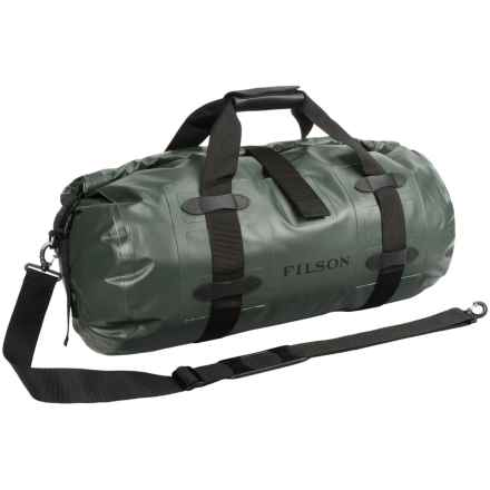 Filson Dry Duffel Bag - Waterproof, Large in Green - Closeouts
