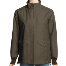 Filson Dry Finish Shelter Cloth Windbreaker Jacket - Waxed Cotton (For Women) in Otter Green - Closeouts
