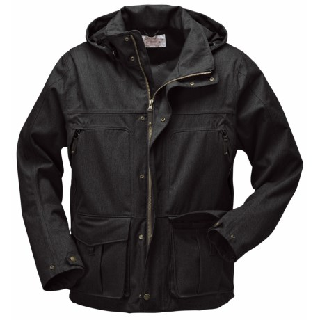 Filson Elliott Bay Jacket - Waterproof (For Men) in Black