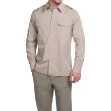 Filson Expedition Shirt - Long Sleeve (For Men) in Desert Tan - Closeouts