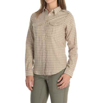 Filson Fairbanks Shirt - Long Sleeve (For Women) in Gray Ivory - Closeouts