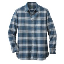 Filson Flannel Shirt - Long Sleeve (For Men) in Blue Multi - Closeouts