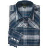 Filson Flannel Western Shirt - Snap Front, Long Sleeve (For Men)