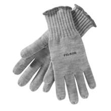 Filson Full Finger Gloves - Merino Wool (For Men) in Gray Heather - Closeouts