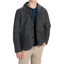 Filson Guide Jacket - Waxed Cotton (For Men) in Black - Closeouts