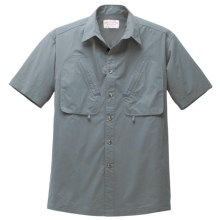 Filson Guide Shirt - Short Sleeve (For Men) in Slate - Closeouts