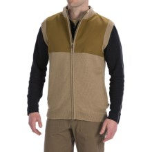 Filson Guide Sweater Vest - Wool, Full Zip (For Men) in Camel - Closeouts