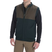 Filson Guide Sweater Vest - Wool, Full Zip (For Men) in Dark Green - Closeouts