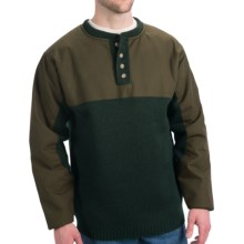 Filson Guide Waterfowl Oil-Finished Sweater - Merino Wool (For Tall Men) in Otter Green - Closeouts