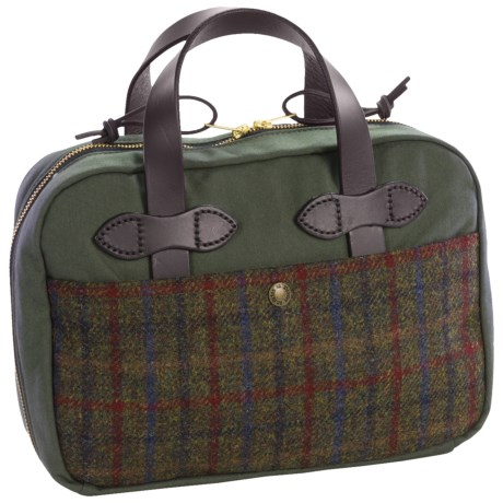 Filson Harris Tweed iPad® Case in Otter Green