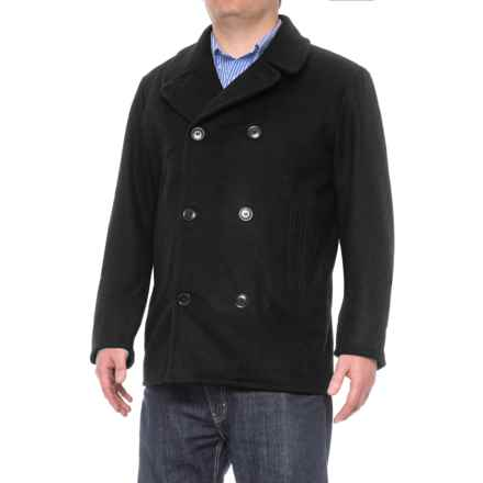 Filson Hatch Peacoat (For Men) in Charcoal - Closeouts