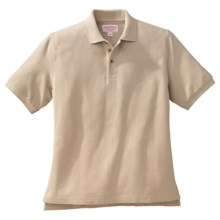 Filson Heavyweight Pique Polo Shirt - Short Sleeve (For Men) in Desert Tan - Closeouts