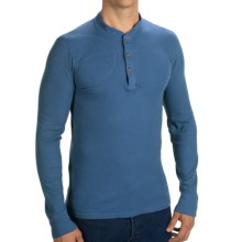 Filson Hunters Thermal Henley Shirt - Long Sleeve (For Men) in Blue Jay - Closeouts
