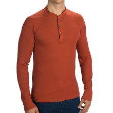 Filson Hunters Thermal Henley Shirt - Long Sleeve (For Men) in Guide Red - Closeouts