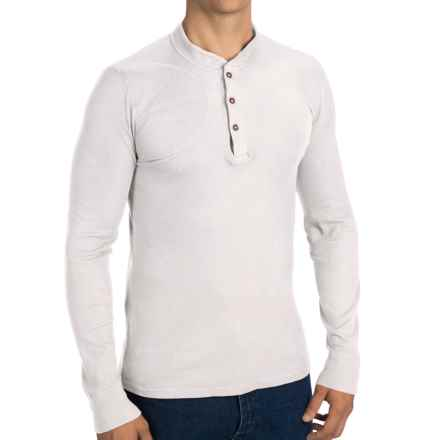 Filson Hunters Thermal Henley Shirt - Long Sleeve (For Men) in White - Closeouts