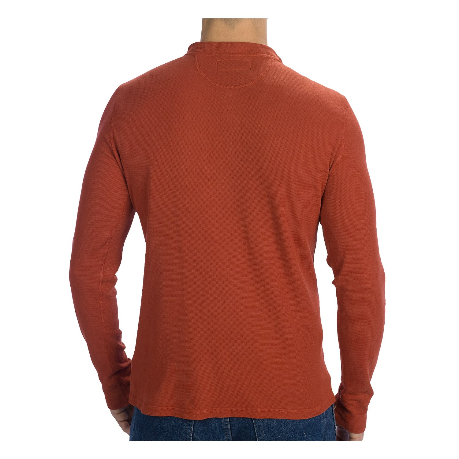 Stanley Mens Workwear Sherpa Lined Henley Thermal Shirt