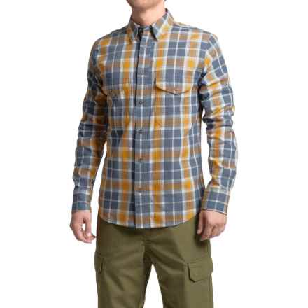 Filson Hunting Shirt - Long Sleeve (For Men) in Blue/Orange/Tan - Closeouts
