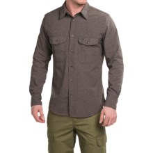 Filson Hunting Shirt - Long Sleeve (For Men) in Mulch - Closeouts