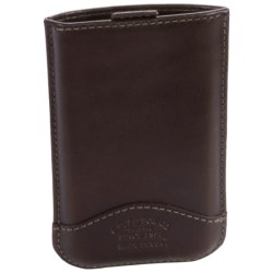 Filson iPhone® Sleeve - Leather in Black