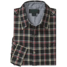 Filson Kenmore Plaid Shirt - Long Sleeve (For Men) in Black Multi - Closeouts