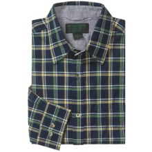 Filson Kenmore Plaid Shirt - Long Sleeve (For Tall Men) in Navy Multi - Closeouts
