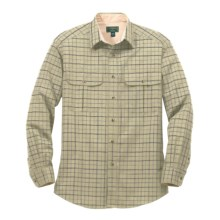 Filson Kingston Plaid Shirt - Long Sleeve (For Men) in Light Green Plaid - Closeouts
