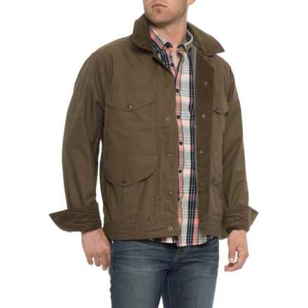 Filson Lightweight Dry Journeyman Jacket (For Men) in Marsh Olive - Closeouts