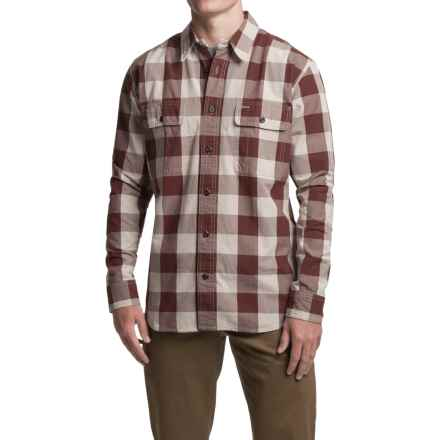 Filson Lightweight Kitsap Work Shirt - Long Sleeve (For Men) in Dark Burgundy - Closeouts