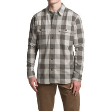 Filson Lightweight Kitsap Work Shirt - Long Sleeve (For Men) in Flint Gray - Closeouts