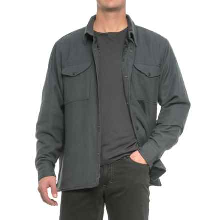 Filson Lightweight Shirt Jacket - Quilt Lined (For Men) in Washed Black - Closeouts