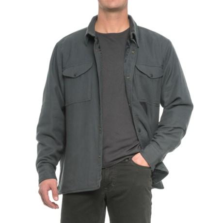 Filson Lightweight Shirt Jacket - Quilt Lined (For Men) in Washed Black