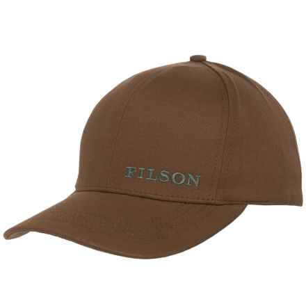 Filson Logger Baseball Cap (For Men and Women) in Brown - Closeouts