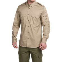 Filson Magnum Bush Shirt - Long Sleeve (For Men) in Khaki - Closeouts