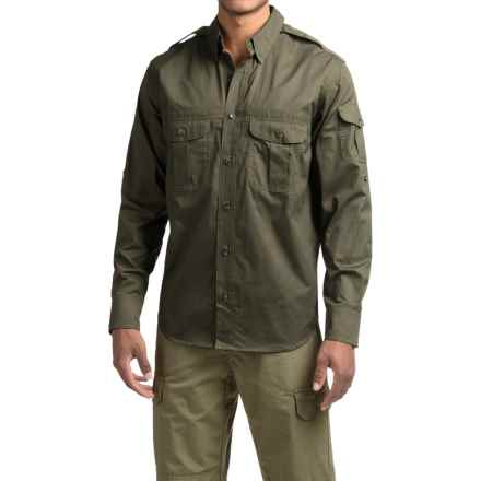 Filson Magnum Bush Shirt - Long Sleeve (For Men) in Magnum Black - Closeouts