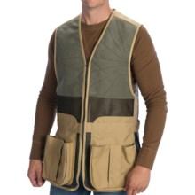 Filson Mesh Clay Shooting Vest (For Men) in Dark Tan - Closeouts