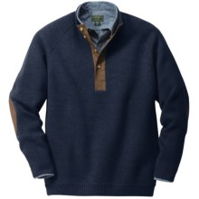 Filson Midweight Pullover Sweater - Wool (For Men) in Navy - Closeouts