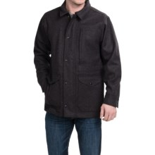 Filson Mile Marker Wool Jacket - Alaska Fit (For Men) in Charcoal - Closeouts