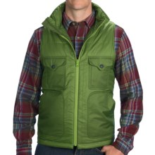 Filson Mist Vest - Insulated, Zip Front, Mock Neck (For Men) in Fern Green - Closeouts