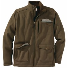 Filson Moleskin Fleece Jacket (For Men) in Olive - Closeouts