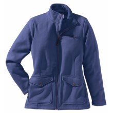 Filson Moleskin Fleece Jacket (For Women) in Blue Indigo - Closeouts