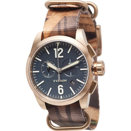 Filson Navy Chronograph Nylon Strap Watch