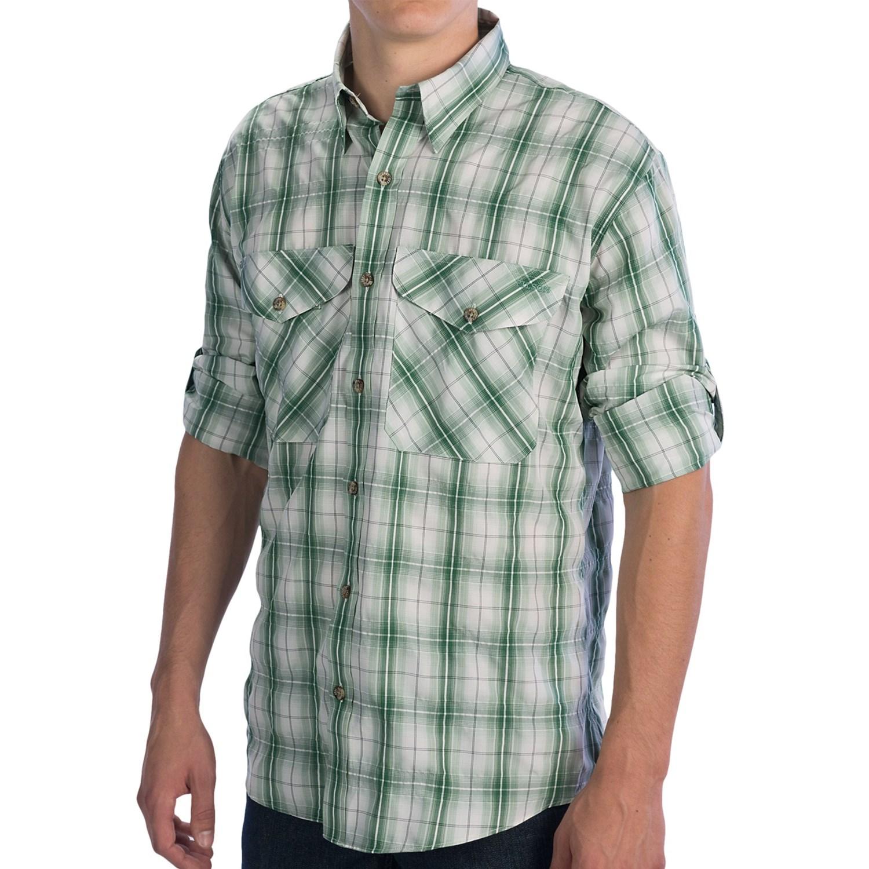 Filson no 3 fishing shirt upf 50 long sleeve for men for Fishing shirts for men