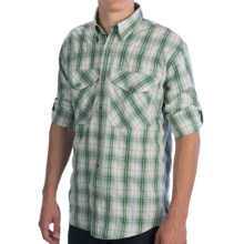 Filson No. 3 Fishing Shirt - UPF 50, Long Sleeve (For Men) in Green Plaid - Closeouts