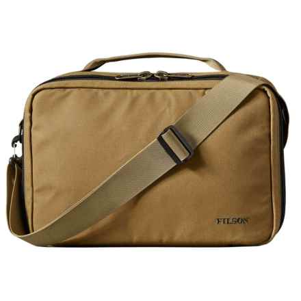 Filson Padded Compartment Case in Dark Tan